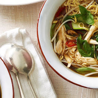Chicken And Egg Noodle Soup.