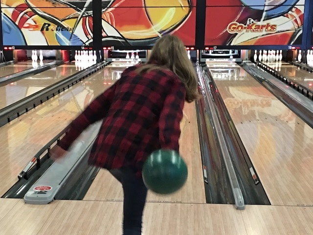 Bowling at Boondocks in Kaysville for the AnswerConnect team meetup