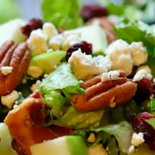 Healthy Apple Pecan Chopped Salad.