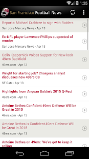 San Francisco Football News- screenshot thumbnail