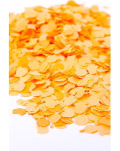 Konfetti, orange