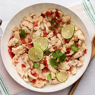Lime Coconut Chicken Tenders.