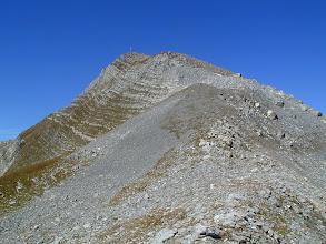 Photo: Hinterer Grauspitz mit Gipfelkreuz