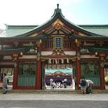Hie Shrine in Tokyo, Tokyo, Japan