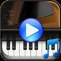 Piano songs to sleep icon
