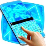 Light Keyboard Neon Icon