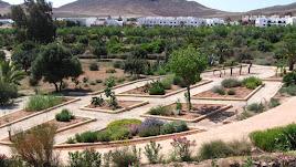 Jardín Botánico El Albardinal, situado en en el antiguo pueblo minero de Rodalquilar y debe su nombre a una planta frecuente en la zona: el albardín.