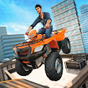 ATV Bike Rooftop City Stunt Ramp icon