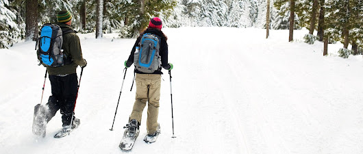 BRMB Blog - Scenic Snowshoeing Adventures From Coast to Coast