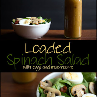 Loaded Spinach Salad Recipe