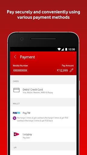 MyVodafone (India) - Online Recharge & Pay Bills screenshots 4