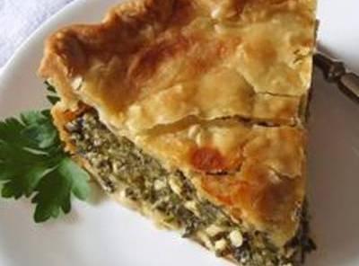 Spinach & Chicken Pie Recipe