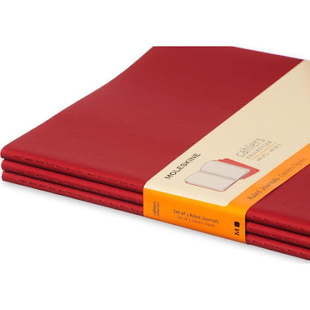 Cahier Journal XL Red