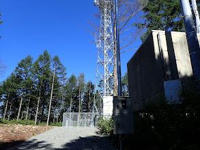 真新しい電波塔が