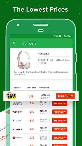 Ebates: Cash Back Rewards, Coupons & Promo Codes Screenshot