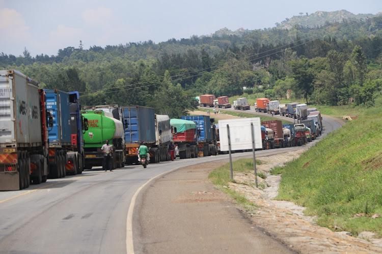 Kenyan truck drivers consider boycotting Uganda destined cargo