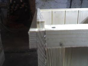 Photo: Wypuszczona boczna łączyna o 10 mm daje nam felc
