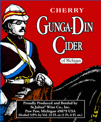 Logo of St. Julian Cherry Gunga-Din Cider