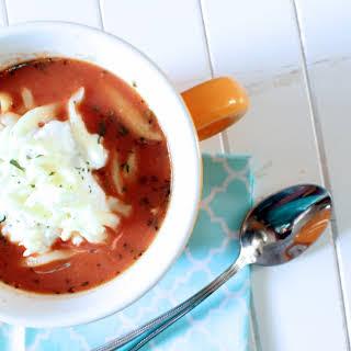 Luscious Lasagna Soup.