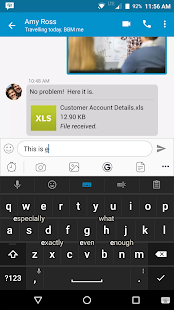 BlackBerry Keyboard- screenshot thumbnail