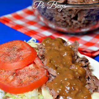 Roast Beef Po Boy - New Orleans