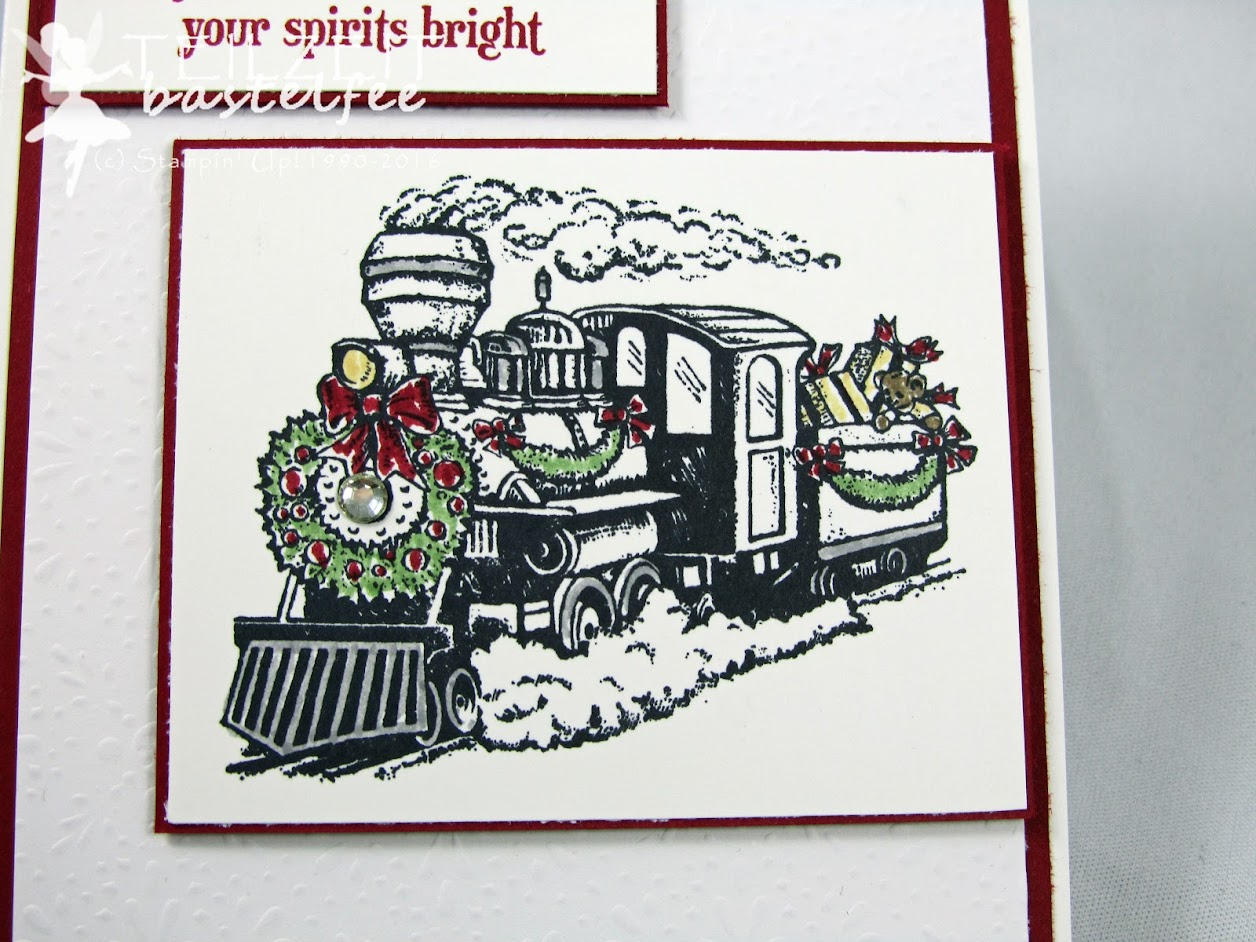 Stampin' Up! – In{k}spire_me #272, Christmas Magic, Weihnachten, Polarexpress, DP Eisfantasie, DSP Fancy Frost, Xmas