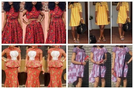 Unique Ankara styles for women Screenshot