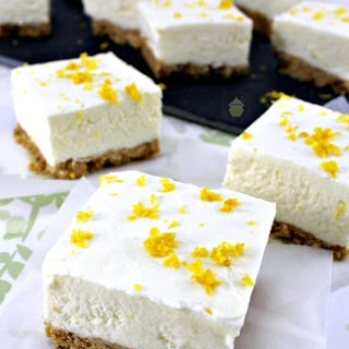 Lemon Cheesecake Squares.