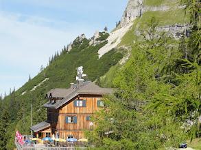 Photo: Die Loserhütte. Von hier aus gehen wir zum Losergipfel