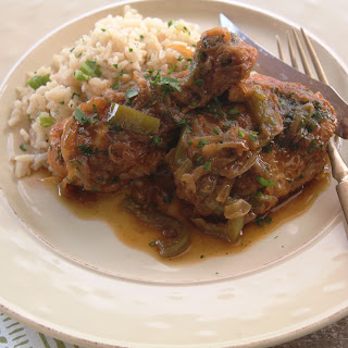 Smothered Chicken And Onions