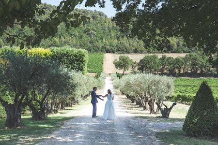 Vineyard wedding, France