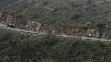 Photo: Alto de Lubrin descent