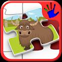 Kids Zoo Animal Jigsaw Puzzles icon