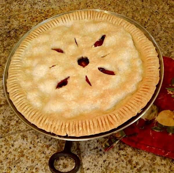 Cranberry Pie (2 Crust) Recipe