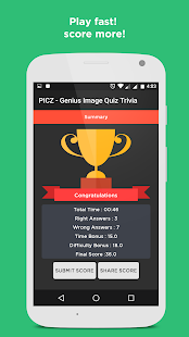 PICZ-Genius Image Quiz Trivia- screenshot thumbnail
