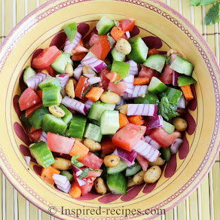 Cool and Crunchy Summer Salad.