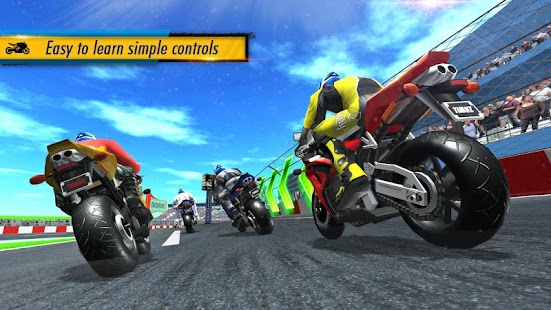 ApkMod1.Com Bike Racing 2019 + (Free Shopping) for Android Game Racing