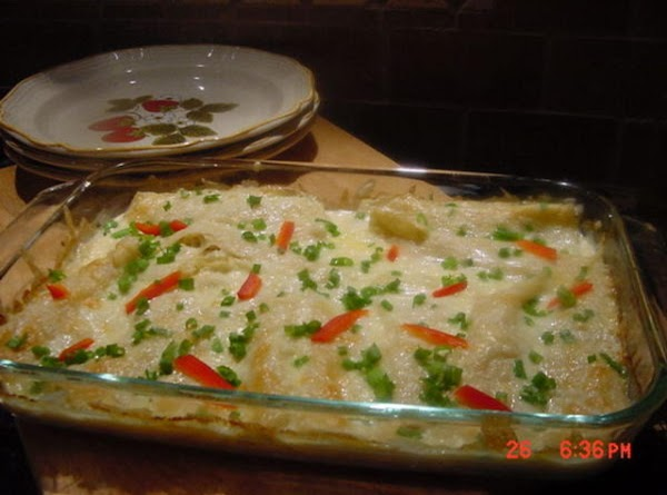 Chicken Enchiladas A La Crema Recipe