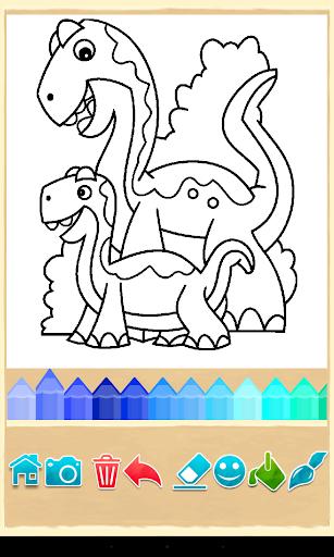 Dino Coloring Game Screenshot 15