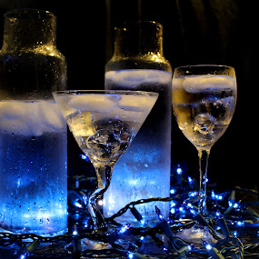 by Janna Morrison - Food & Drink Alcohol & Drinks ( 2 glasses of water,  )