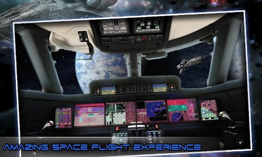 Moon Flight Driving Simulator screenshot 2