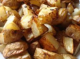 Onion Roasted Potatos Recipe