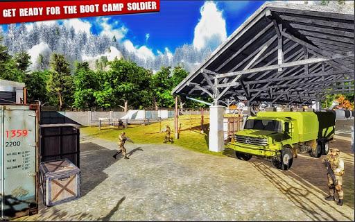 Army Training camp Game screenshot 11