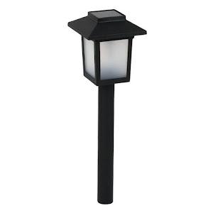 Set 3 lampi solare felinar 8x8x37 cm
