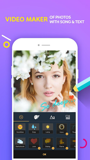 Video Maker Of Photos With Song & Video Editor  screenshots 2