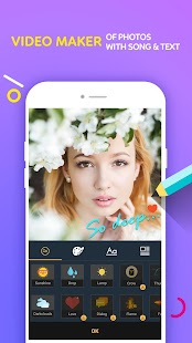 Video Maker Of Photos With Song & Video Editor - náhled