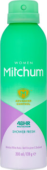 Mitchum Women Antiperspirant Deodorant Spray - Shower Fresh, 200ml