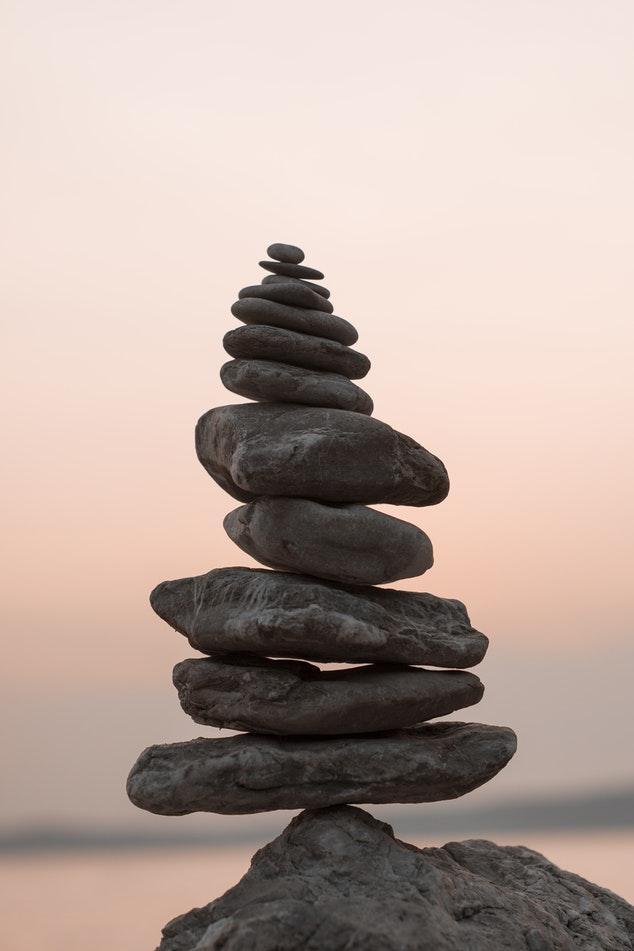 Piedras de yoga
