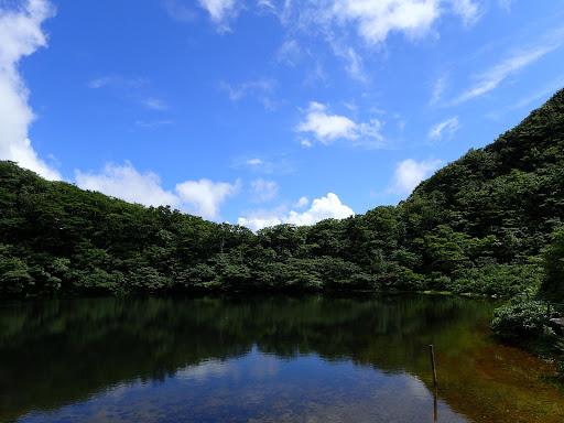 青空の夜叉ヶ池