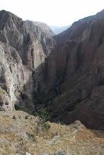 Photo: Cañón de Pichirigma En dirección al puente de la carretera a Lluta Huanca / 18 y 19 de Noviembre (2012) Caylloma